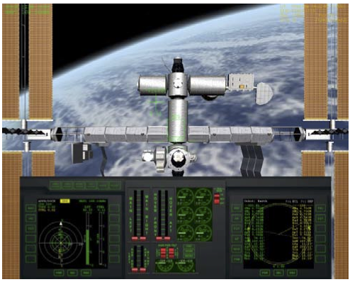 Shuttle-A at ISS